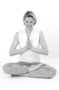 zwart wit meditatie