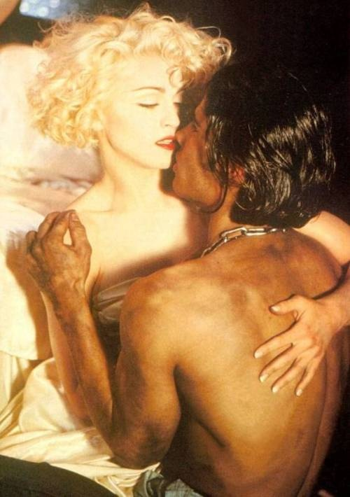 Madonna and Cameron Alborzian