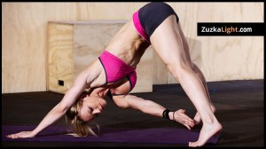 Zuzka yoga-workout