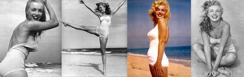 Marilyn Monroe Summer landscape