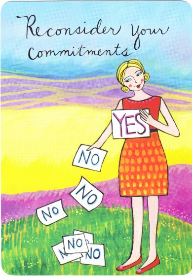 24 reconsider your commitments